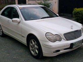 2001 Mercedes Benz C200 Kompressor FOR SALE