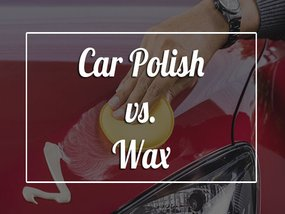 Can you tell the differences between car polishing and waxing?
