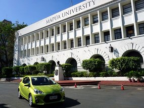 Toyota Hybrid Electric Vehicles on tour in Philippine Universities