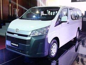 White 2019 Toyota Hiace for sale in Laguna