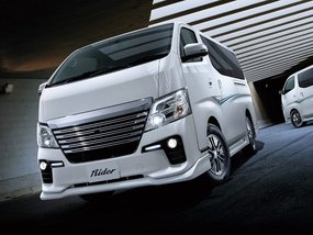 Nissan NV350 Urvan 2019 is given a fancy new style package
