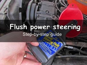 How to flush and bleed power steering systems like an expert
