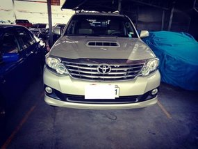 2014 Toyota Fortuner 4x2 VNT for sale