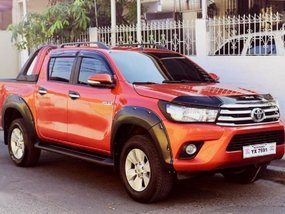 Toyota Hilux 2016 Automatic Diesel for sale in Quezon City