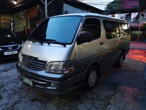 2nd Hand (Used) Toyota Hiace 2000 Manual Gasoline for sale in Manila