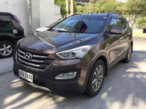 2nd Hand (Used) Hyundai Santa Fe 2015 for sale in Pasig