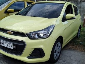 Yellow Chevrolet Spark 2017 for sale in Parañaque