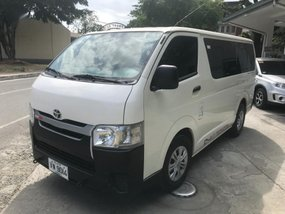 Selling Toyota Hiace 2018 Manual Diesel in Quezon City