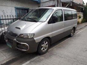 Silver Hyundai Starex 1999 Manual Diesel for sale