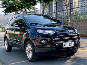 Black Ford Ecosport 2017 Automatic Gasoline at 3700 km for sale