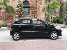 Black 2015 Toyota Wigo at 54000 km for sale