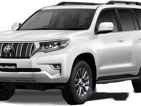Selling White Toyota Land Cruiser Prado 2019 Manual Diesel