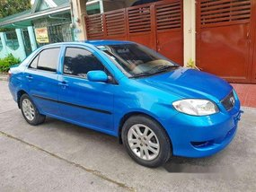 Blue Toyota Vios 2003 at 100000 km for sale