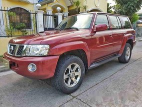 Selling Red 2013 Nissan Patrol Automatic Diesel