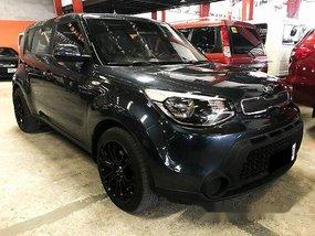 Blue Kia Soul 2015 Automatic Diesel for sale in Quezon City
