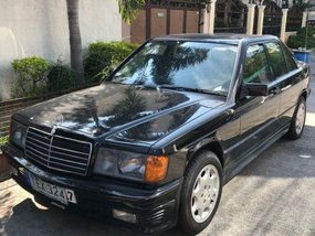 Selling Mercedes-Benz 190 1985 Manual Gasoline in Parañaque