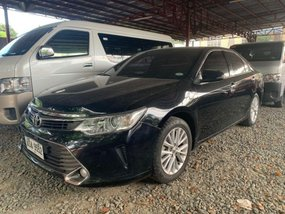 Black Toyota Camry 2015 for sale in Quezon City