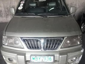 Mitsubishi Adventure 2003 at Manual Diesel for sale in Davao City