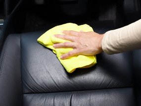 Steps to remove grease and oil from car interior