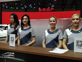 [10+ images] The ladies of Shanghai Auto Show 2019