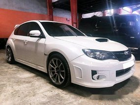 White Subaru Impreza Wrx STI 2008 Manual Gasoline for sale in Quezon City