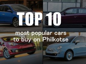 Top 10 most popular cars to buy on Philkotse this May
