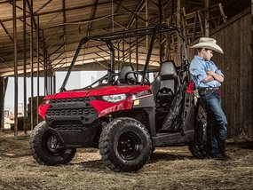 Pick-up for kids: Polaris Ranger 150 EFI & Safe driving tips your child needs to know