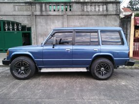 Selling 2nd Hand Mitsubishi Pajero 1991 Manual Diesel in Quezon City