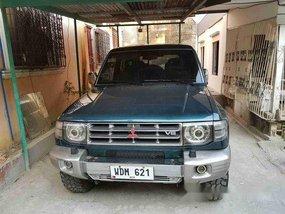 Green Mitsubishi Pajero 1997 at 120467 km for sale in Manila