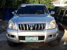 Selling Silver Toyota Land Cruiser 2006 for sale