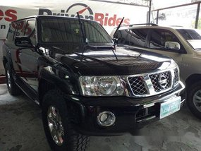 Sell Black 2010 Nissan Patrol at Automatic Diesel in Quezon City