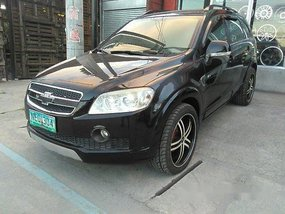 Selling Black Chevrolet Captiva 2009 Automatic Diesel at 74631 km