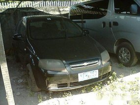 Selling Black 2007 Chevrolet Aveo for sale