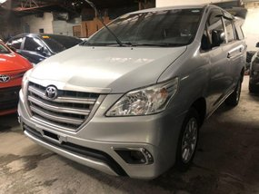 Selling Silver Toyota Innova 2016 in Quezon City