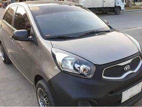 Selling Gray 2013 Kia Picanto Gasoline Manual in Quezon