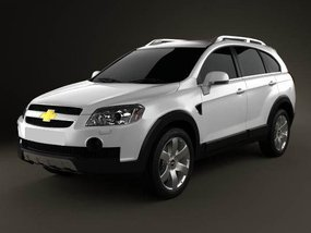 2nd Hand Chevrolet Captiva 2012 at 40000 km for sale in Quezon City