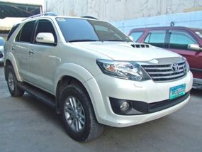 Sell 2nd Hand Pearl White 2013 Toyota Fortuner Diesel Automatic