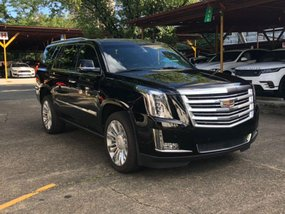 Selling Cadillac Escalade 2018 Automatic Gasoline in Pasig