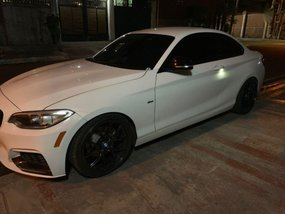 Selling 2nd Hand Bmw 220I 2017 Coupe at 12000 km in Quezon City