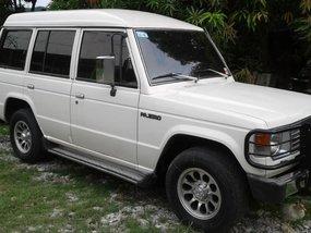 Selling Mitsubishi Pajero 1989 Manual Diesel in Las Piñas
