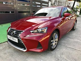 Sell Red 2017 Lexus Is 350 at 7500 km in Parañaque