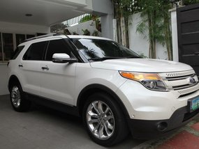 Sell White 2013 Ford Explorer 39000 km in Quezon City