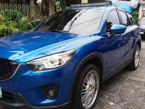 Selling 2nd Hand Mazda Cx-5 2012 Manual Gasoline at 70000 km in Quezon City