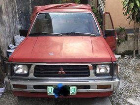 Selling Mitsubishi L200 1995 at 130000 km in Quezon City