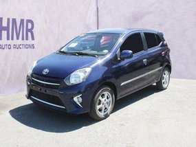 Blue Toyota Wigo 2016 Automatic Gasoline for sale in Muntinlupa