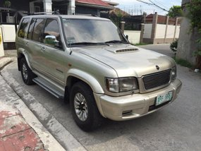 Selling Isuzu Trooper 2002 Automatic Diesel in Valenzuela