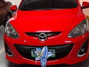 Red Mazda 2 2013 for sale in Marilao