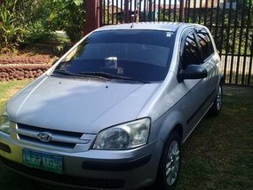 2nd Hand Hyundai Getz 2005 at 120000 km for sale in Davao City
