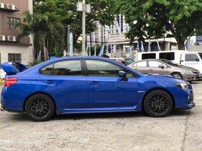 Blue Subaru Impreza 2015 Sedan Manual Gasoline for sale in Manila