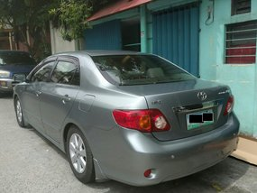 Selling 2008 Toyota Altis Manual Gray at 67000 km
